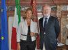 07.07.2011 - Giorgio Orsoni riceve la Presidente Corte dei Conti Enrica Del Vicario
