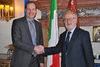 04.02.2013 - Giorgio Orsoni riceve delegazione Tour de France