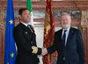 04.02.2011 - Giorgio Orsoni riceve il Comandante di Vascello Spagnolo