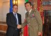 04.09.2014 - Il Commissario Vittorio Zappalorto riceve il Generale di Brigata Carlo Fortino
