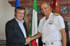 26.06.2015 - Il Sindaco Luigi Brugnaro riceve l'Ammiraglio di Divisione Roberto Camerini