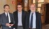 07.03.2014 - Giorgio Orsoni riceve i Sindaci Ivo Rossi e Giovanni Manildo