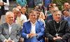 27.05.2015 - Il Sindaco Luigi Brugnaro in Basilica di San Marco per l'avvio del restauro della pavimentazione