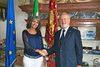 12.09.2012 - Il sindaco di Venezia, Giorgio Orsoni, ha ricevuto  il vicepresidente della Repubblica di Bulgaria, Margarita Popova