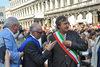 17.07.2015 - Il Sindaco Luigi Brugnaro alla consegna delle Lauree di Ca' Foscari in Piazza San Marco