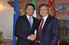 16.10.2015 - Il Sindaco Luigi Brugnaro incontra il Presidente Matteo Renzi