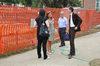 27.07.2010 - Sopralluogo al nuovo asilo di vicolo Pineta a Mestre dell'ass.re Ferrazzi