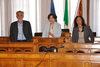 13.04.2011 - L'Ass.re Tiziana Agostini riceve studenti Progetto Comenius
