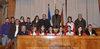 26.11.2010 - L' Ass.re Andrea Ferrazzi presenta la squadra di calcio femminile Net.Uno di Venezia Lido