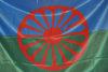 08.04.2014 - Giornata del Popolo Rom esposta la Bandiera Rom sulla facciata di Ca' Farsetti
