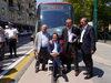 16.07.2015 - Il Sindaco Luigi Brugnaro alla conferenza stampa sul tram