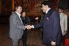 13.11.2015 - Il Sindaco Luigi Brugnaro incontra delegato della famiglia reale Al Thani del Qatar