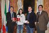 20.02.2014 - Roberto Panciera premia Rachele Campagnol