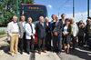 30.08.2010 - Deposito Favaro avvio pre esercizio Tram
