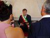 29.08.2015 - Il Sindaco Luigi Brugnaro celebra il primo matrimonio civile nella nuova sala a Mestre