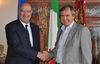 26.04.2016 - Il Sindaco Luigi Brugnaro riceve l' Ambasciatore del Messico Juan Josè Guerra Abud