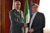 09.12.2015 - Il Sindaco Luigi Brugnaro incontra il Generale GdF Antonino Maggiore