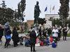 25.03.2016 - L'Infiorata in piazzale  Santa Lucia - Ermelinda Damiano, Giovanni Giusto, Francesca Rogliani