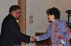 20.05.2010 - L'Ass.re Tiziana Agostini incontra il Console Generale dell' India Sarvajit Chakravarti