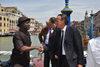 15.05.2014 - Sandro Simionato riceve Comrade Abba Patrick Moro Ministro della  Nigeria