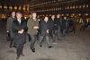 18.11.2015 - Il Sindaco Luigi Brugnaro alla manifestazione silenziosa in Piazza San Marco - Una candela per Valeria