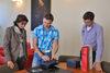 """17.09.2013 - L'assessore Rey ha ricevuto i due studenti olandesi del """"Giro europeo dei sindaci"""""""