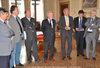 20.05.2010 - Il Sindaco Giorgio Orsoni consegna all' equipaggio del Palio il Gonfalone di Venezia