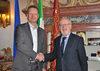05.02.2013 - Giorgio Orsoni riceve il Sindaco di Capodistria Boris Popovic