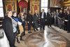 30.03.2016 - Ermelinda Damiano Presidente del Consiglio Comunale al Ghetto di Venezia per la presentazione di tre targhe commemorative
