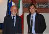 27.08.2010 - Giorgio Orsoni riceve a Ca' Farsetti il Ministro della Cultura Cileno Luciano Cruz-Coke