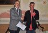 19.09.2012 - Il vicesindaco Sandro Simionato incontra il poeta  Antonio Melis