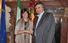 22.02.2016 - Il Sindaco Luigi Brugnaro incontra l'Ambasciatrice di Francia Catherine Colonna