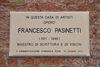 30.08.2011 - Inaugurazione lapide commemorativa dedicata a Francesco Pasinetti