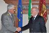 29.04.2010 - Il Sindaco G. Orsoni incontra il comandante  intereg. GdF P. Debidda