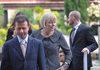 03.05.2011 - La Console Americana Carol Peres in visita di commiato dal Sindaco