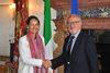 28.05.2013 - Il sindaco Orsoni ha ricevuto Ségolène Royal presidente del Consiglio della regione Poitou Charentes