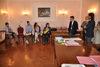 21.04.2016 - L'Assessore Paolo Romor alla Firma della  convenzione Istituto alternanza scuola  lavoro