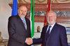 18.05.2012 -  Il sindaco di Venezia, Giorgio Orsoni, ha ricevuto il nuovo presidente della Corte d'Appello, Attilio Passannante