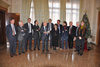 18.12.2013 - Il Sindaco Giorgio Orsoni e la Giunta in conferenza stampa di fine anno