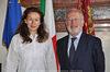 22.07.2010 - Giorgio Orsoni riceve il Console Generale d' Austria Theresa Indjein