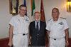 27.09.2010 - Giorgio Orsoni riceve i Contrammiragli Stefano Vignani e Tiberio Piattelli