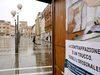 15.11.2013 - Stand anticontraffazione in  Piazza Ferretto