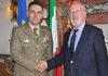 24.09.2012 - Giorgio Orsoni riceve il nuovo Comandante Presidio Militare  Generale  Tommaso Vitale