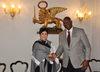 19.11.2015 - Il Governatore di Antigua e Barbuda Rodney Williams in visita a Cà Farsetti