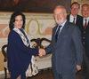 27.08.2010 - Giorgio Orsoni riceve a Cà Farsetti la Sceicca del Barhain Shaikha Mai bint Mohammed Al Khalifa