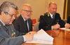 03.04.2013 - Firma protocollo d'intesa tra Polizia municipale e Guardia di Finanza per il controllo sulla tassa di soggiorno