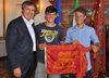 14.07.2015 - Il Sindaco Luigi Brugnaro riceve atleti veneziani di vela cat. 420 che parteciperanno ai mondiali in Giappone