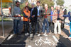 04.11.2010 - Ass.re Ugo Bergamo inaugura pista ciclabile Pellestrina dedicata a Brahim
