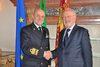 05.04.2012 - Giorgio Orsoni riceve il nuovo Capo di Stato Maggiore della Marina militare l'ammiraglio di Squadra Luigi Binelli Mantelli