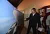 07.10.2015 - Il sindaco Luigi Brugnaro all'inaugurazione della mostra fotografica - Sì o No grandi navi, danno o risorsa per Venezia